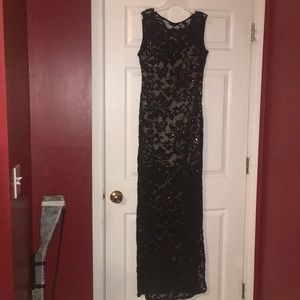 SOLD- Lace & sequin homecoming dress